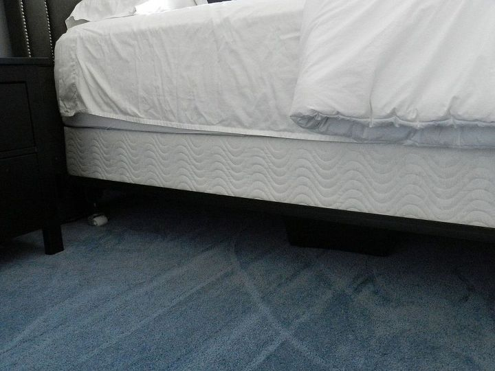 turning a twin bed skirt into a queen no sew, crafts, from this