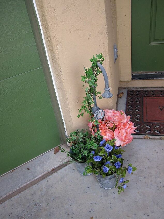 so excited about my home goods find, curb appeal, flowers, gardening