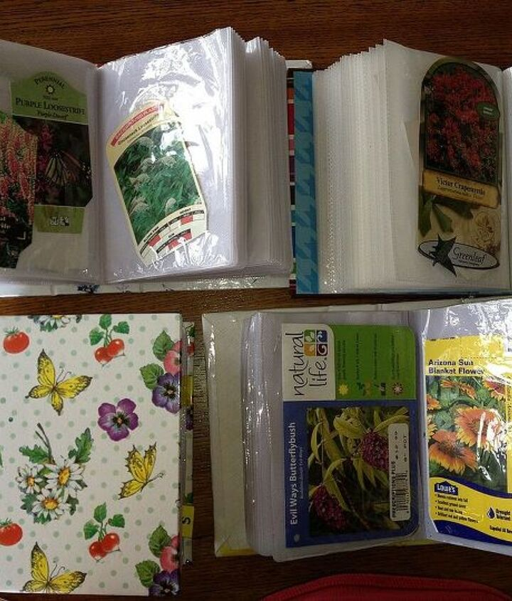 how do you keep track of the plants or seeds you buy each year, gardening