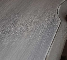 Exceptionnel Weathered Grey Coffee Table, Painted Furniture, Shabby Chic, Closer View Of  The Top