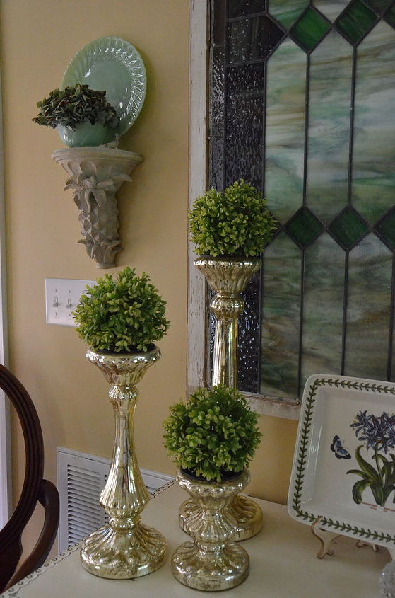 stained glass foyer makeover, foyer, home decor