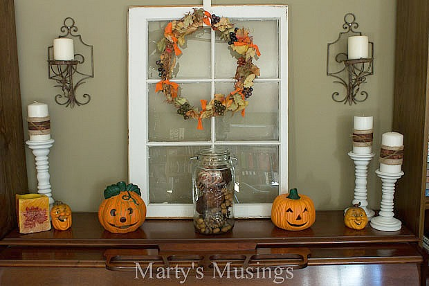 Thrifty Fall Decorating Ideas and Home Tour | Hometalk