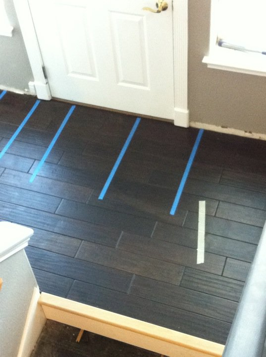 Step 1: Change the flooring.