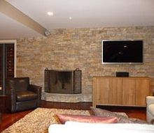 crickett family basement, basement ideas, home decor, home improvement