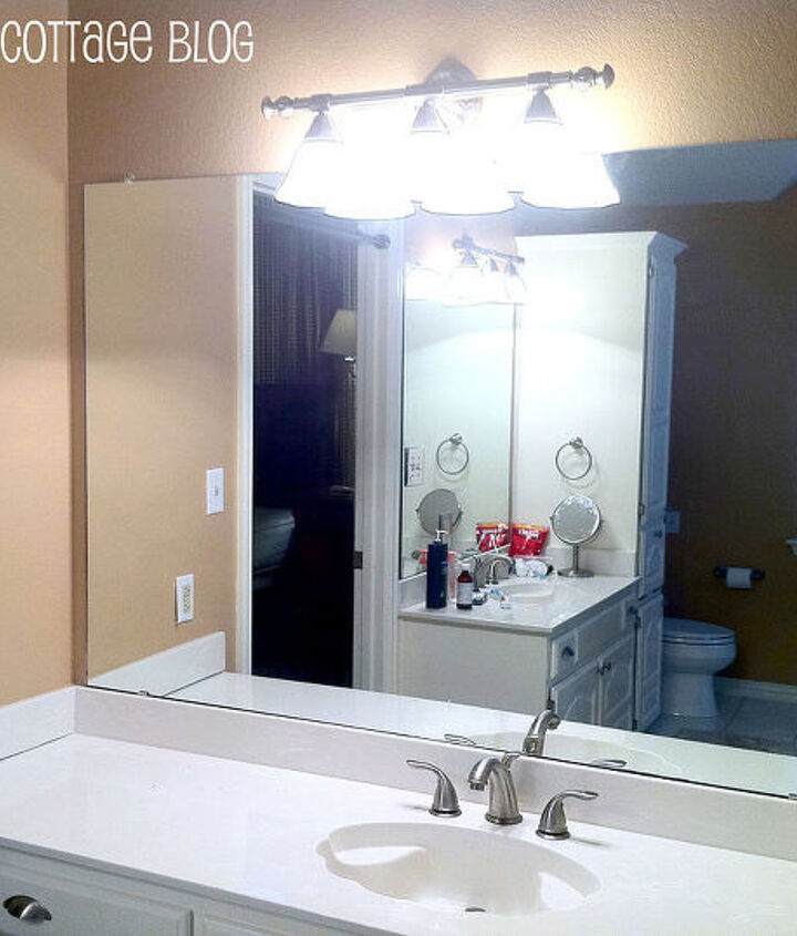 This is the BEFORE mirror.