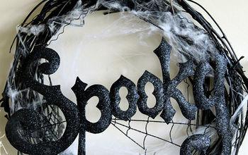 Spooky Halloween Wreath