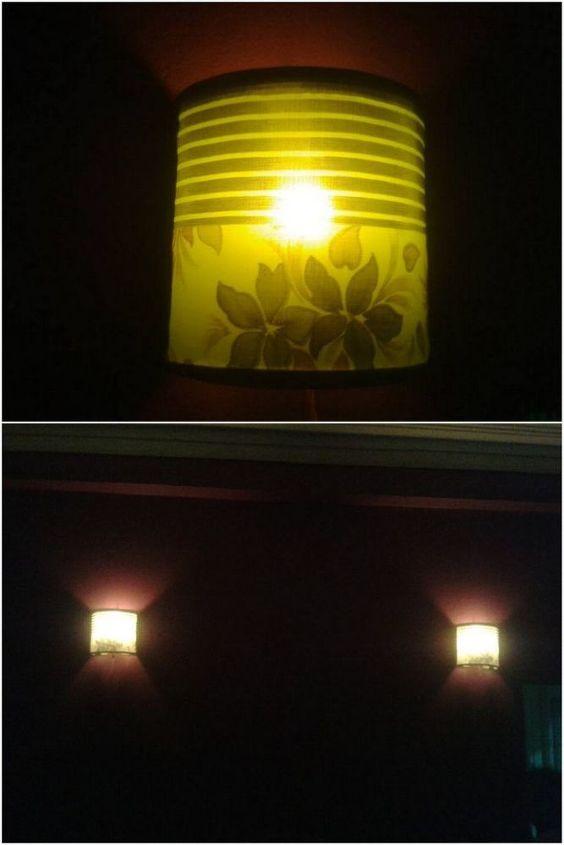 diy wall sconces, crafts, lighting
