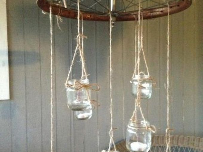 porch chandelier, crafts, outdoor living, repurposing upcycling