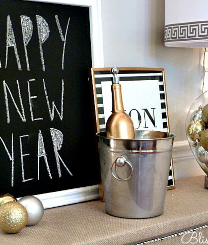 Metallics are trending in a big way right now and perfect for the holidays!