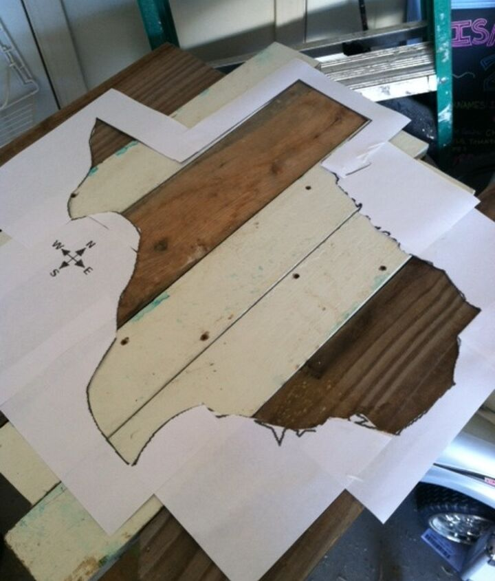 scrap wood wall art, pallet, woodworking projects