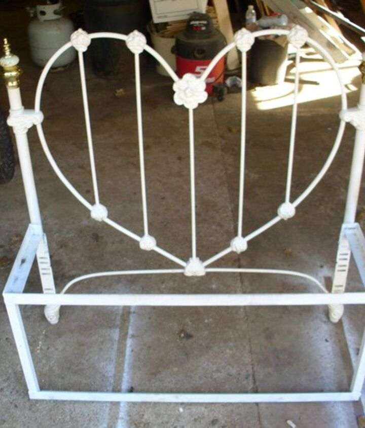 this is what the frame looks like before the wooden seat