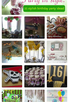 25 stylish birthday party ideas our hometalk curated board, crafts, home decor