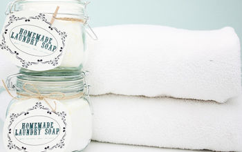 Homemade laundry detergent and why it works so well