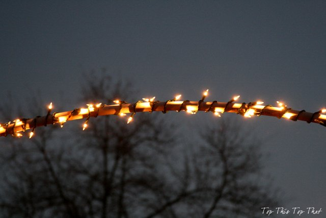 Outdoor Christmas Lights And Diy Arches Hometalk