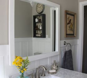 Cottage Style Bathroom Makeover, Bathroom Ideas, Home Decor, Home  Improvement, Painting,