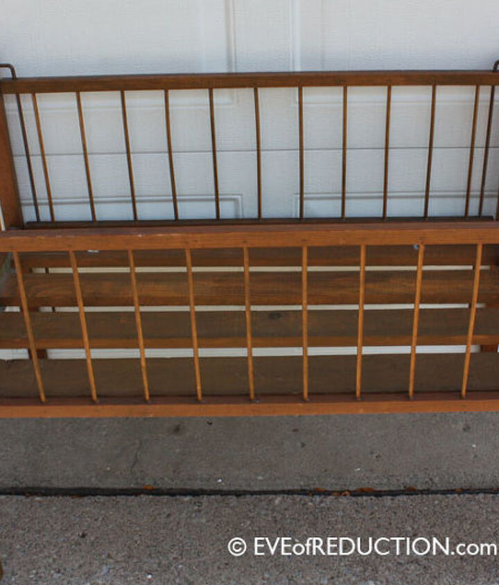 Small, obsolete crib found at the curb