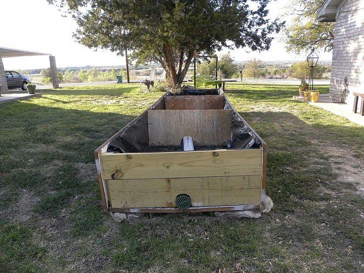 garden box, gardening, Garden Box Stage 1