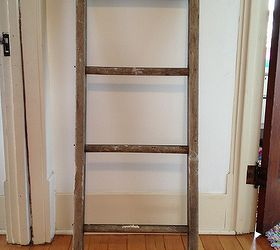 Upcycled Repurposed Ladder Bathroom Shelf Diy, Bathroom Ideas, Repurposing  Upcycling, Shelving Ideas,