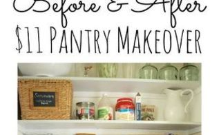 11 pantry makeover, cleaning tips, closet