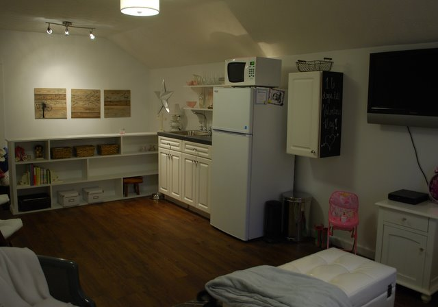 Tiny Attic Apartment Home Decor Organizing Urban Living Wall Woodworking