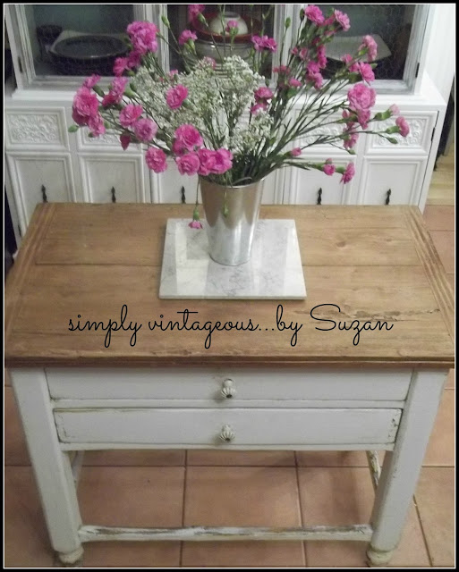 farmhouse table, painted furniture
