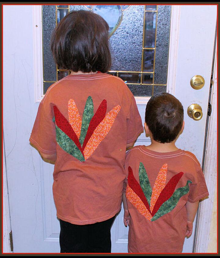 diy no sew turkey shirt, crafts, seasonal holiday decor, thanksgiving decorations