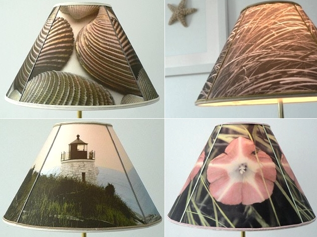diy lampshade made with inkjet fabric and self adhesive lampshade crafts home decor - Diy Lampshade
