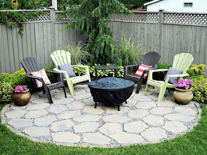Fire Pit Patio Outdoor Living In Full Bloom