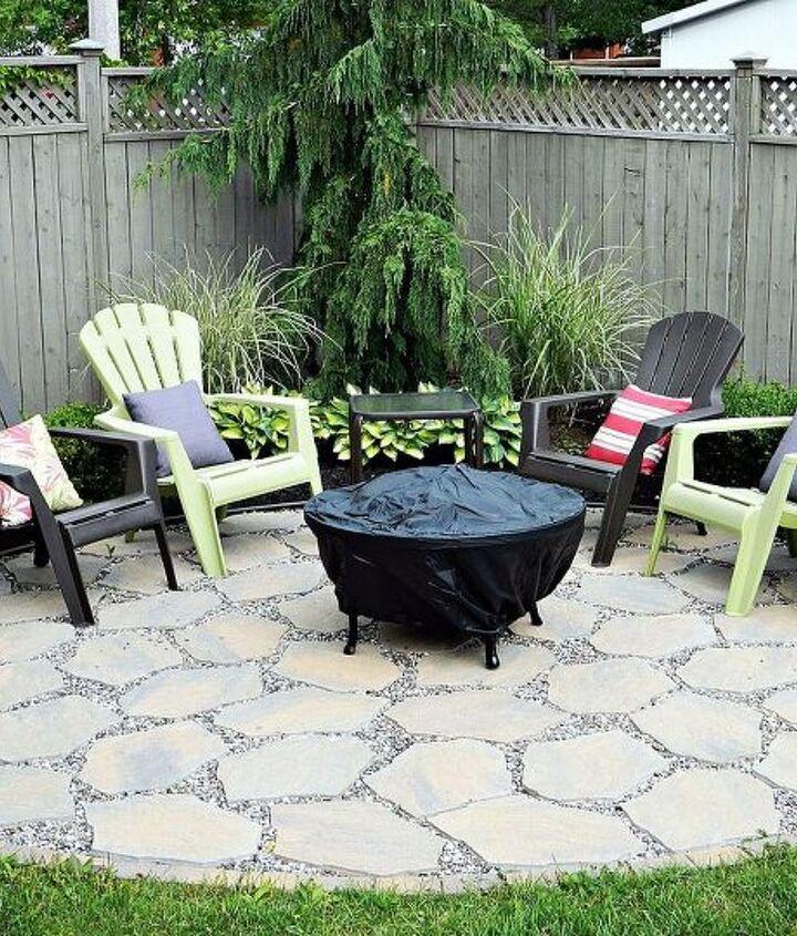 In full bloom  http://www.recapturedcharm.com/2010/06/fire-pit-patio.html
