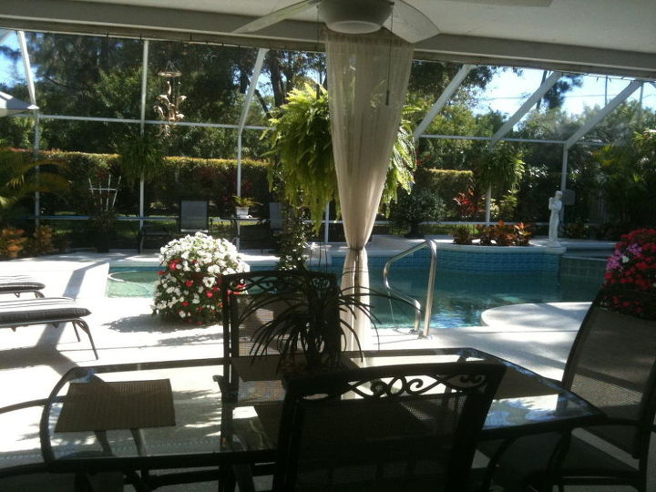 my little bit of paradise in florida, decks, flowers, outdoor living
