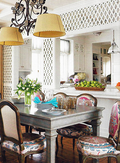Create perspective to an otherwise flat image by adding depth Image by Caccoma Interiors http://www.caccomainteriors.com/index.php
