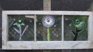 q ok three windows, repurposing upcycling, windows