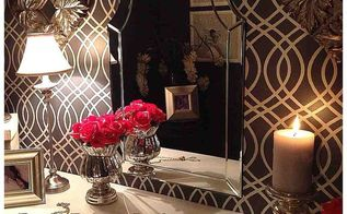 plain closet makeover into glam dressing room, bedroom ideas, closet