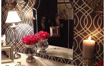 Plain Closet Makeover into Glam Dressing Room