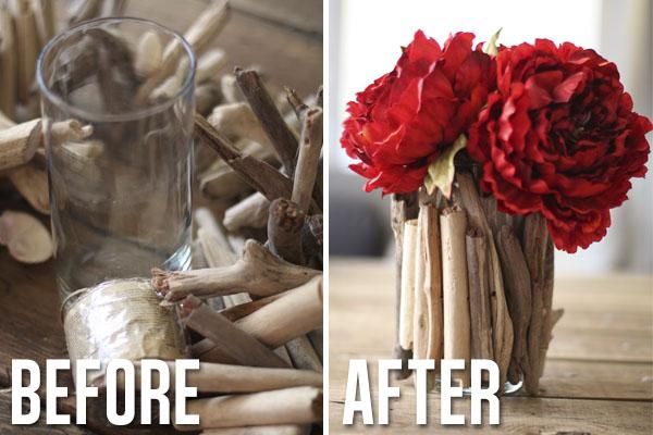 Diy Driftwood Vase Hometalk