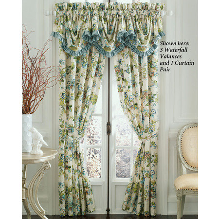 need opinions on curtain choices, home decor, shabby chic, Definitely a more whimsical choice with more accent colors