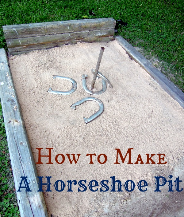 How to Build A Horseshoe Pit | Hometalk