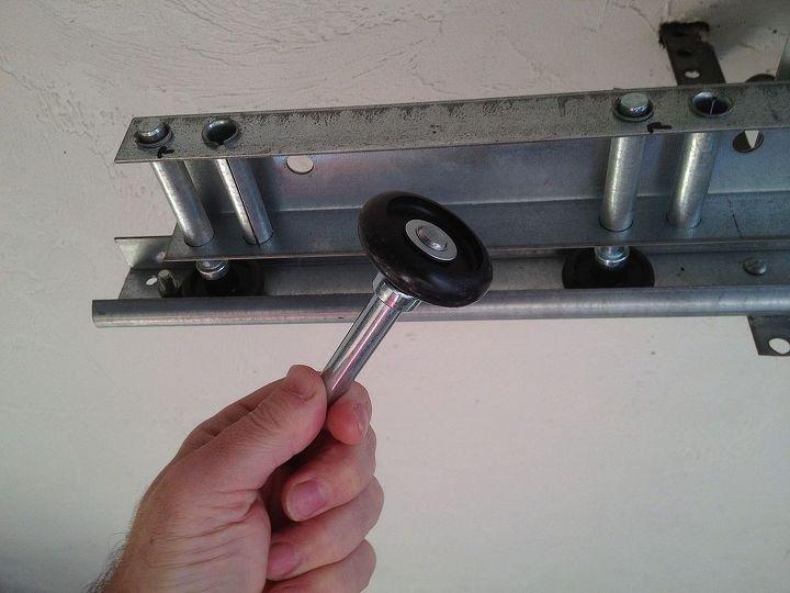 replace garage door rollers for less than 8 garage doors garages home maintenance - How To Replace Garage Door Rollers