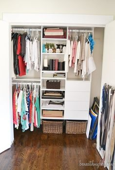 hall closet makeover, cleaning tips, closet, foyer