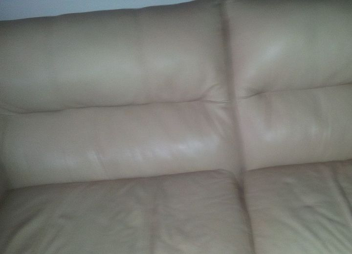 Wondrous Cleaning Repair Leather Sofa Hometalk Machost Co Dining Chair Design Ideas Machostcouk