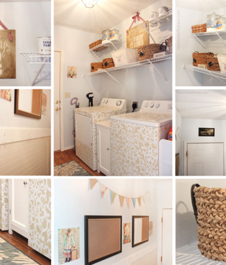 See the full laundry room makeover here: http://howtonestforless.com/2012/09/17/laundry-room-makeover-reveal/
