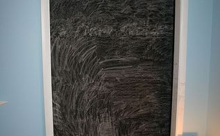 painting with chalkboard paint, chalk paint, chalkboard paint, closet, painting