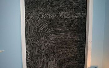 Painting with chalkboard paint