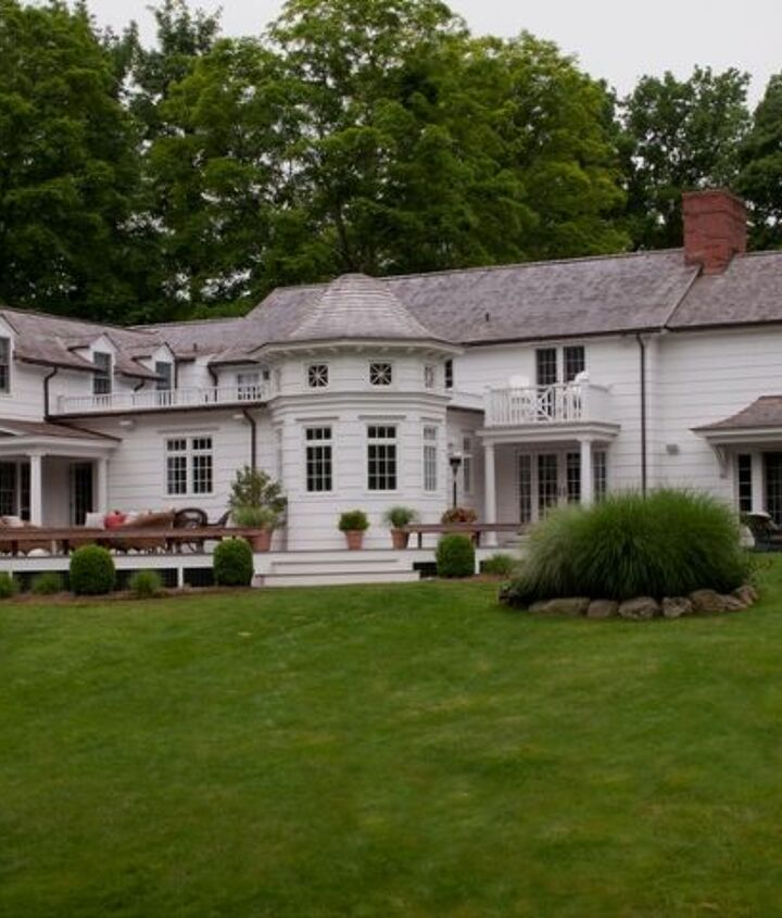 Rear View of New Canaan, CT Home Renovation by Titus Built, LLC