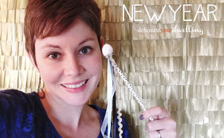 making a new year s eve picture backdrop, crafts, seasonal holiday decor