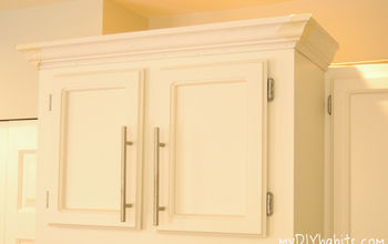Adding Instant Drama to Kitchen Cabinets