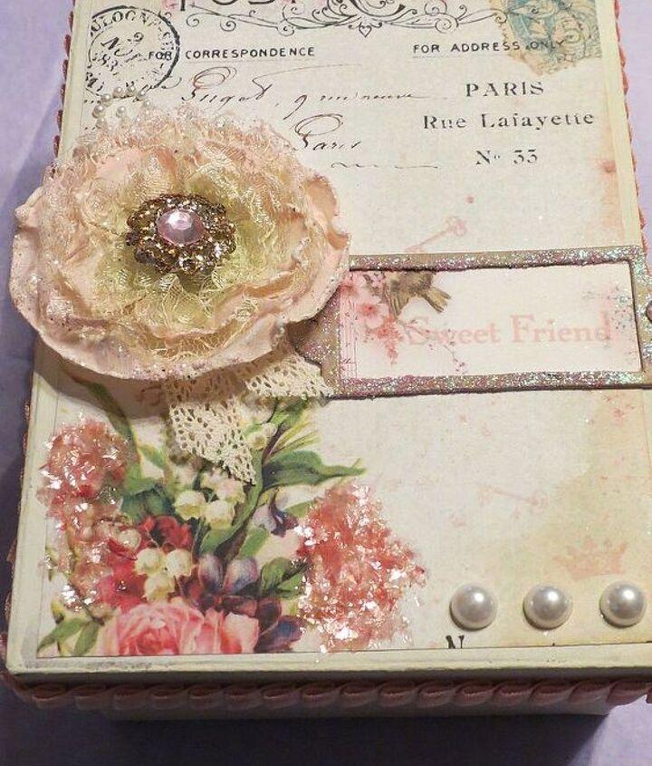 beautiful keepsake boxes, crafts