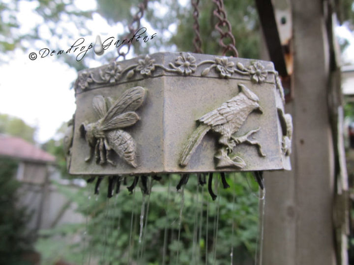Top of wind chimes