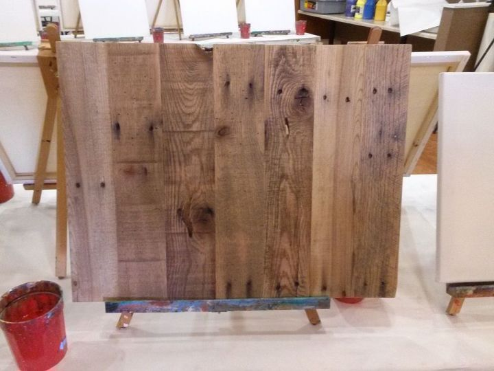 diy pallet art, diy, home decor, how to, painted furniture, pallet, woodworking projects