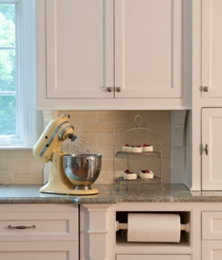 Close up of Custom Kitchen Cabinetry handcrafted by Titus Built, LLC